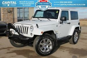 2014 Jeep Wrangler Sahara *Command Start *Removable Doors & Roof