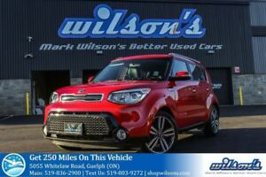 2015 Kia Soul SX LEATHER! HEATED STEERING+SEATS! REAR CAMERA! BL