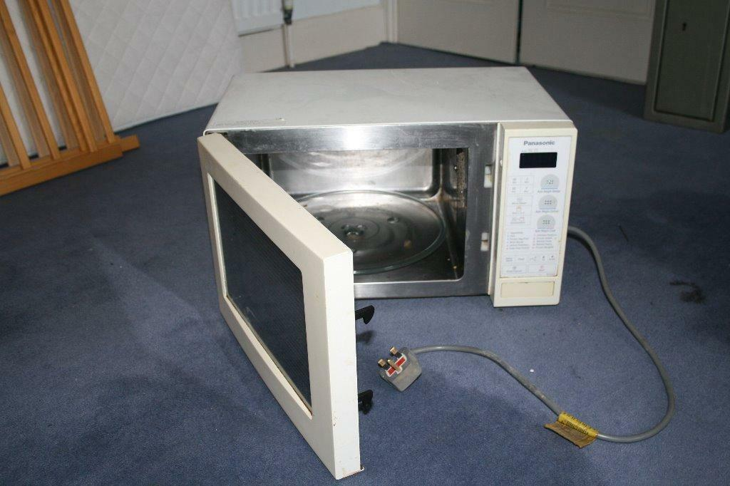 Microwave Panasonic Combo Oven White With Stainless