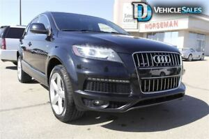 2012 Audi Q7 3.0 SPORT, AWD, LEATHER, 7 PASSENGER