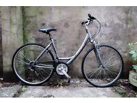 GIANT EXPRESSION DX, ladies women's dutch style hybrid road city bike, 20 inch, 18 speed, loop frame