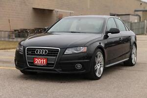 2011 Audi A4 2.0T Premium   AWD   S-Line   CERTIFIED + E-Tested