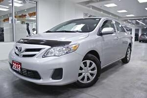 2012 Toyota Corolla CE, POWER GROUP, ONE OWNER, NO ACCIDENT, FUL