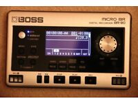 Boss BR80 digital portable multi track recording studio