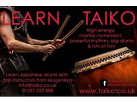 Taiko Taster Workshops for Adults and Children