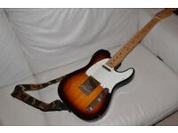 Fender American Telecaster Maple Neck 2 tone Sunburst 2012