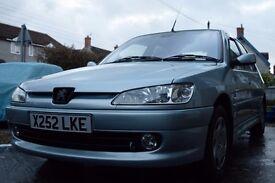 2000 | 1.4 | Peugeot 306 Meridian | 84,000 miles | 6 Month MOT