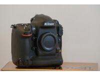 Nikon D4 Professional Digital SLR Camera Body Only