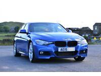 BMW 2015 320D CAR 3 SERIES BLUE M SPORT 4dr SALOON 2.0L DIESEL AUTO 40K MILEAGE! ***