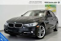 2013 BMW 335i xDrive + Sport Line + Cuir rouge!