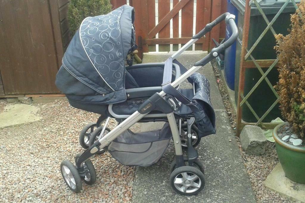 Sliver Cross Pram And Pushchair In Newcastle Tyne And