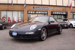 2008 Porsche 911 Carrera 4S/NAVIGATION/SUNROOF/LEATHER