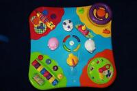 EDUCATIONAL TOY WITH ANIMAL SOUNDS, CLOCK, PIANO KEYS