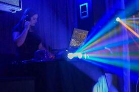 Purple Discos (young female DJ)