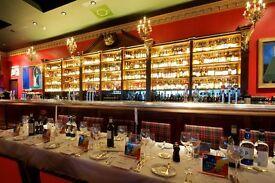 Snr Chef De Partie - Award winning Boisdale of Canary Wharf