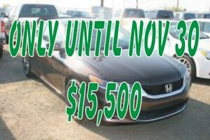 2013 Honda Accord EX-L V-6 Leather, Sunroof, Nav