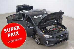 2015 Subaru WRX STi Sport-Tech GPS+Cuir+Toit Ouvrant Impeccable