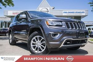 2014 Jeep Grand Cherokee Overland *NAVI|LEATHER|Blind spot*