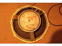 """15"""" bass speaker taken from Traynor YBA-1A"""