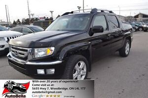 2010 Honda Ridgeline EX-L Touring Navigation Camera Leather Sunr