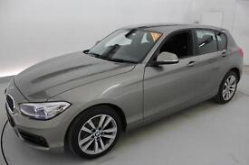 BMW 1 SERIES 116d Sport 5dr [Nav] (silver) 2016