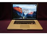 "QUAD Core i7 15"" Apple MacBook Pro 2.4Ghz 4GB 500GB MICROSOFT OFFICE 2016 TRAKTOR SCRATCH PRO LOGIC"