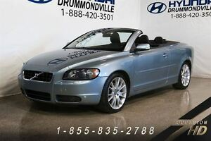 2007 Volvo C70 T5 A + PREMIUM PACK + CUIR + MAGS + EXCELLENTE CO