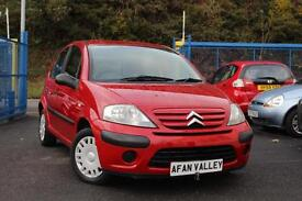 CITROEN C3 1.1i Airplay+ 5dr **2 OWNERS+NEW MOT** (red) 2007