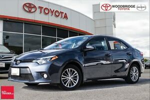 2014 Toyota Corolla LE TECH. NAV, MOONROOF, LEATHER, PWR SEAT, A