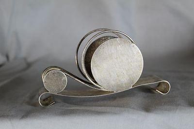 WMF Serviettenhalter Briefständer - Silber versilbert - Form einer Schnecke /209