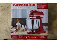 Kitchenaid KSM-150 New Unused Wedding Gift 5 Quart 4.8 Litre Mixing Bowl 10 speed UK Version UK Plug