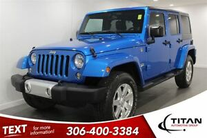 2014 Jeep Wrangler Unlimited Sahara|Bluetooth| Leather|Low Kms|N
