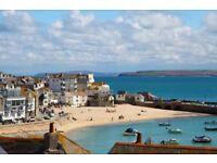 Admiral Cottage St Ives : Pretty Boutique Garden Home with Stunning Harbour and Sea Views