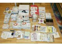 Mix of Products, Xmas cards, boxes, packs, birthday cards,