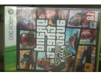GTA V INSTALLATION DISC, CASE, MAP, BLIMP, BOOKLET. (Replacement)