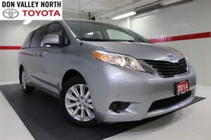2014 Toyota Sienna LE AWD 7 PASS Btooth BU Camera Heated Seats