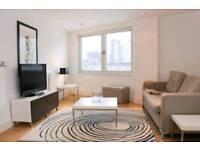 2 bed 2 bath luxury Canary Wharf home