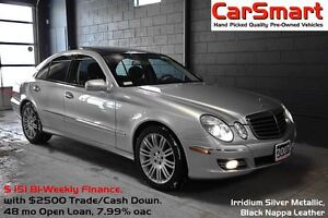 2007 Mercedes-Benz E-Class 4-Matic AWD, Leather, Pana-Roof, H-K