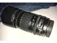Canon camera lens EF 100-300mm USM