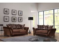 🔴🔵FAST DELIVERY🔴🔵Brand New SHANNON Corner Or 3 + 2 Sofa,SWIVEL CHAIRS, Universal corner Sofa