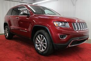 2014 Jeep Grand Cherokee Limited * GPS, 4X4, DÉMARREUR A DISTANC
