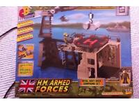 LEGO-like Building Toy. Armed Forces Theme