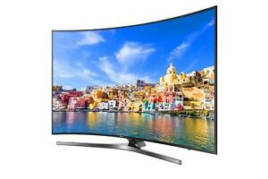 SAMSUNG 65INCH 4K CURVED SMART LED TV ------ NO TAX SALE