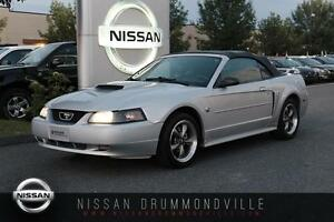 2004 Ford Mustang GT CABRIOLET - INT. CUIR - BAS MILLAGE - AUBAI