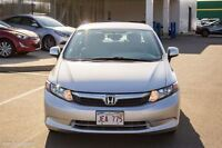 2012 Honda Civic LX! LOW KMS! Own for $98 TAX IN!