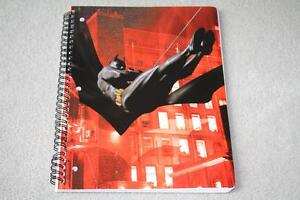BRAND NEW Batman 1 Subject Notebook