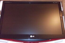 New in box LG M227W TV , can be used as computer monitor ,remote ,Freeview