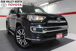 2015 Toyota 4Runner V6 4WD LIMITED PKG Sunroof Nav BU Cam Heated