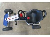 PUKY F 600L Kids Go Cart White/Blue Colour Age 5+ or Height 110cm