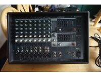 Yamaha Powered Mixer EMX212S for parts or repair
